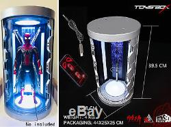 1/6 Scale Toysbox TB088 The Spider Man Hall Of Armor Case Display Box Case Toy
