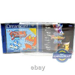 100 x Game Box Protectors for Sega Dreamcast STRONG 0.5mm Plastic Display Case