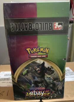10x Pokemon Sword and Shield Vivid Voltage Build & Battle Box Display Case