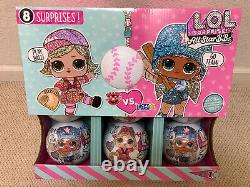 12- LOL Surprise All Star BBs HEART BREAKERS LUCKY STARS Balls DISPLAY CASE BOX