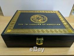 12 Labours Of Hercules Deluxe Coin Case Display Box For 12 Coin Two Pound £2 Set
