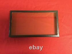 12 Pack of 8 x 14 x 1 Riker Display Cases Boxes for Collectibles Jewelry & More