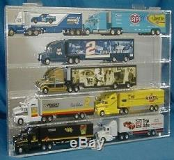 164 Scale Diecast Truck & Hauler Display Case Holds 10 Made in USA New in Box