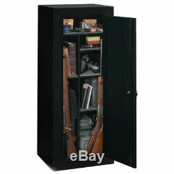 18 Gun Safe 54 Long Steel Lock Box Weapon Storage Home Security Cabinet