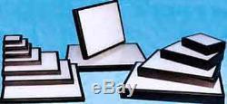 #190 (12) Riker Mount Display Case Shadow Box Frame Tray 20 X 14 X 3/4