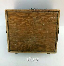 1900 Antique Wood Tiered Extend M. Hohner Harmonica Advertising Display Case Box