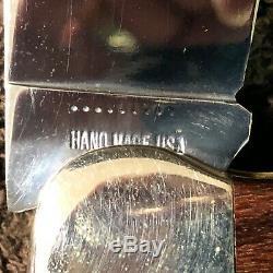 1971 CASE XX P172 9-Dot BUFFALO Hand Made Pakkawood Bulldog Knife withDisplay Box