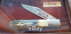 1979 Case XX 5143, Founders Stag Knife Set Of 4, In Display Boxes #cg361