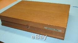 1980 CASE XX USA 75th ANNIVERSARY 7 GENUINE STAG HANDLE KNIFE SET With DISPLAY BOX