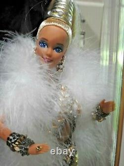 1990 GOLD BARBIE, Bob Mackie, First In Series withDisplay Case and Original Box