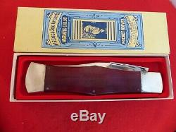 1991 Case Tested XX Classic 11.25 closed dealer display knife in box
