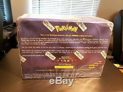 1999 Pokemon Base Set Sealed 8 Deck Starter Set Case Display Box WOTC Vintage