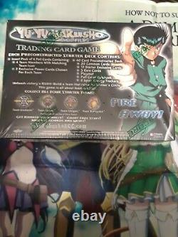 1st Edition Yu Yu Hakusho Ghost Files Theme Deck Display Box Sealed case Fresh×1