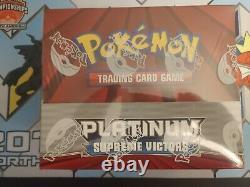 2009 Pokemon Platinum Supreme Victors Theme Deck Display Box Factory Sealed Case