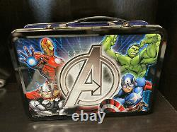 2014 Marvel Avengers Niue 1oz Silver 4 Coin Set with COA & Display Case/Box