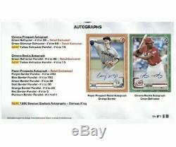 2020 Bowman Baseball Sealed Retail Display Box Case (12 box/24packs) PRESALE