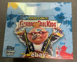 2021 Topps Garbage Pail Kids Food Fight Display 8 Box Case Factory Sealed Retail
