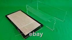 22x15x16 Table Top Acrylic Display Case Box Stand Doll Houses Counter Top Shelf