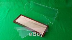 23x10x20 Table Top Display Case Box for Ocean Liner Cruise Ships Collectibles