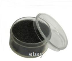 3 Aluminum Display Cases Boxes 50 Jar Black Organizer Gems Body Jewelry Nuggets