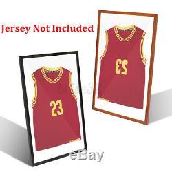 32'' Jersey Display Case Shadow Box Frame Sports Football Baseball Basketball