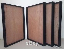 4 JERSEY Display Case Frame Football Baseball Basketball Shadow Box NEW A