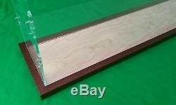 42 Clear Acrylic Table Top Display Case Box Stand Counter Top Show Case Wood