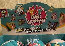 5 Surprise TOY MINI Brands Zuru Full Case of 12 Balls with Display Box NEW