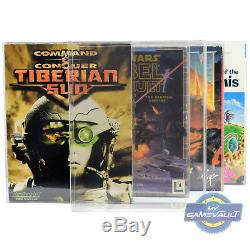 50 x PC Game BOX PROTECTORS Big Box Strong 0.5mm PLASTIC DISPLAY CASE (Type 3)