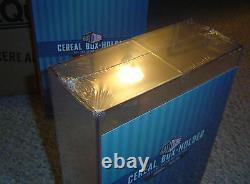 (6) Ballqube Cereal Box Display Case Holder Cube