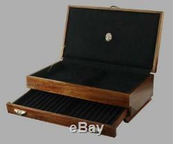#698 Fountain Pen Storage Case Chest Display Cabinet Organizer Box Holder Tray