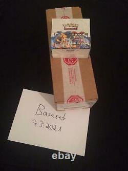 6x Pokemon Evolutions Booster Box Display XY English OVP FULL SEALED CASE
