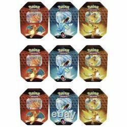 9x Pokemon TCG Hidden Fates Verborgenes Schicksal GX Tin ENG Display Case Sealed