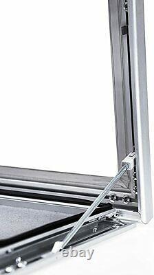 A1A2A3A4 Outdoor Lockable Display Case Box Poster Menu Holder Notice Board