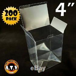 ATV Display Box Cases / Protectors For 4 Funko Pop Vinyl (Pack of 200)
