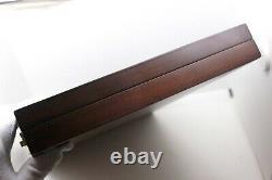 AURORA wood Case/Box Display Storage Tray- 20 Fountain Pen NEW (88-OPTIMA)