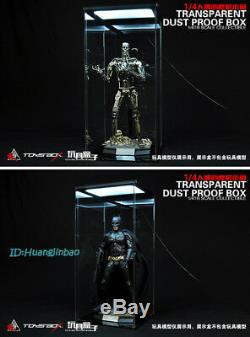 Acrylc Hall Of Armor Hangar 1/4 Transparent Dust Proof Box Display Case Toys-Box