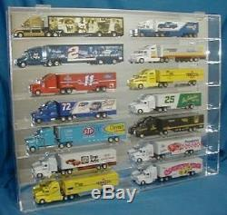 Acrylic Diecast 164 Truck & Hauler Display Case Holds 14 New in Box Made in USA