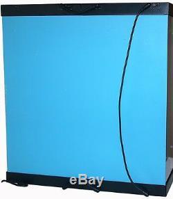 Acrylic Display Case Light Box for 1/4 Quarter Scale Iron Man Mark XLIII Figure
