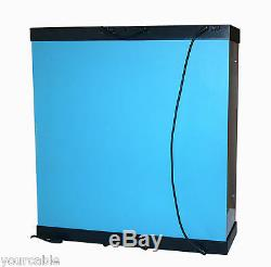 Acrylic Display Case Light Box for TWO 12 1/6th Scale IRON MAN 3 Action Figure