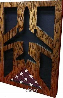 Air Force Mcdonnell Douglas Kc-10 Extender Award Shadow Box Medal Display Case