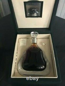 Baccarat'Richard Hennessy' Cognac Crystal Decanter Display with Case & Box RARE