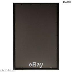Black Sports Jersey Case 22 x 28 Display Case Shadow Box Deep Large Display