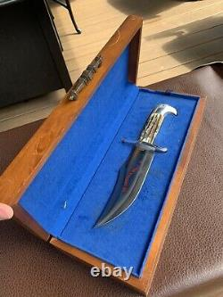CASE XX 1976 Bicentennial Double-Eagle Hunter Knife withDisplay Box Vintage Bowie