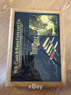 Case Tony Bose Commemorative 3 pc. Set with original display box and COA