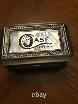 Case XX Knife Pewter & Mother of Pearl Display Box