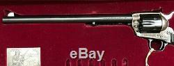 Colt 12 Buntline SAA Wood Display Presentation Box Case With Drawer + Key 3343MNX