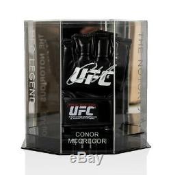 Conor McGregor Signed UFC Glove In Octagon Display Case Autograph