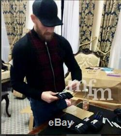 Conor McGregor signed MMA Mit /glove Plus Display Case In A Octagon case
