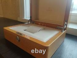 Custom Made Replacement Wooden Watch Box Display Case for Omega Watch